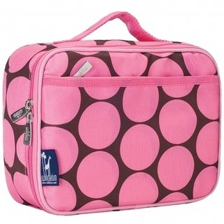 Wildkin Lunch Box Big Dots Pink