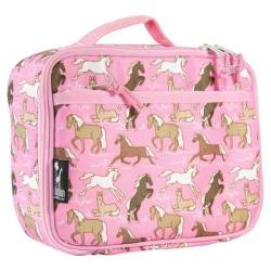 Wildkin Horses in Pink Lunch Box