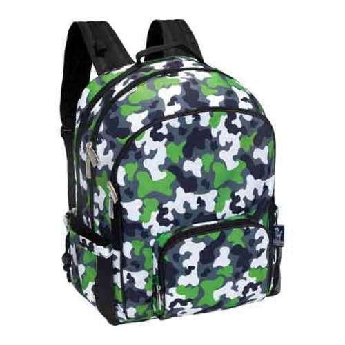 Wildkin Camo Green Macropak Backpack