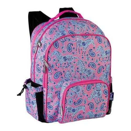Wildkin Watercolor Ponies Macropak Backpack