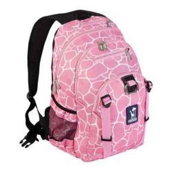 Wildkin Pink Giraffe Serious Backpack