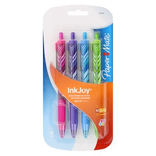 Paper Mate Pack of 12 InkJoy 300 RT Wraps Fashion Assorted Ball Point Pens