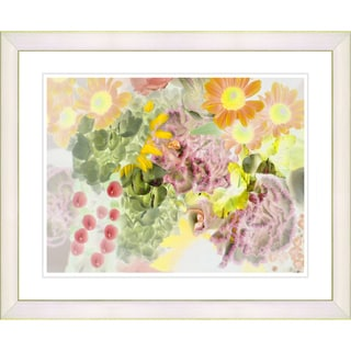 Studio Works Modern 'Future Natural - Yellow' Framed Art Print