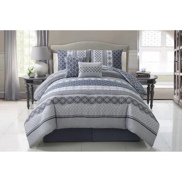 VCNY Hawthorne 5-piece Comforter Set