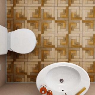 SomerTile 12.5x12.5-inch Cobi Nogal Ceramic Floor and Wall Tile (10 tiles/11 sqft.)