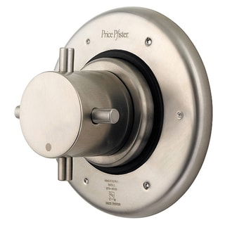 Price Pfister Brushed Nickel Trim Only for 3 port Diverter Valve Price Pfister Utility Sinks & Faucets