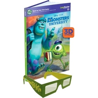 LeapFrog LeapReader 3D Book: Disney�Pixar Monsters University Interac