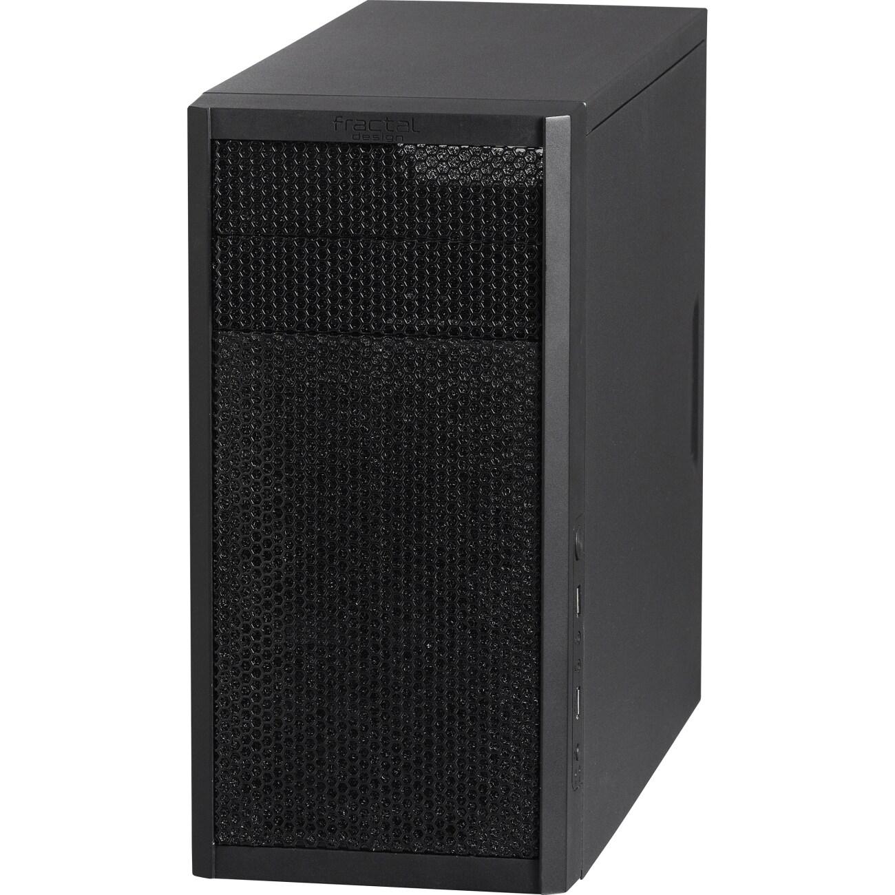 Fractal Design Core 1000 USB 3.0, Black #FD-CA-CORE-1000-BL