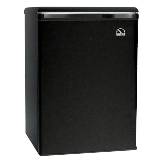Curtis Igloo 3.2 Cu Ft Refrigerator - 3.20 Ft_ - Reversible - Black
