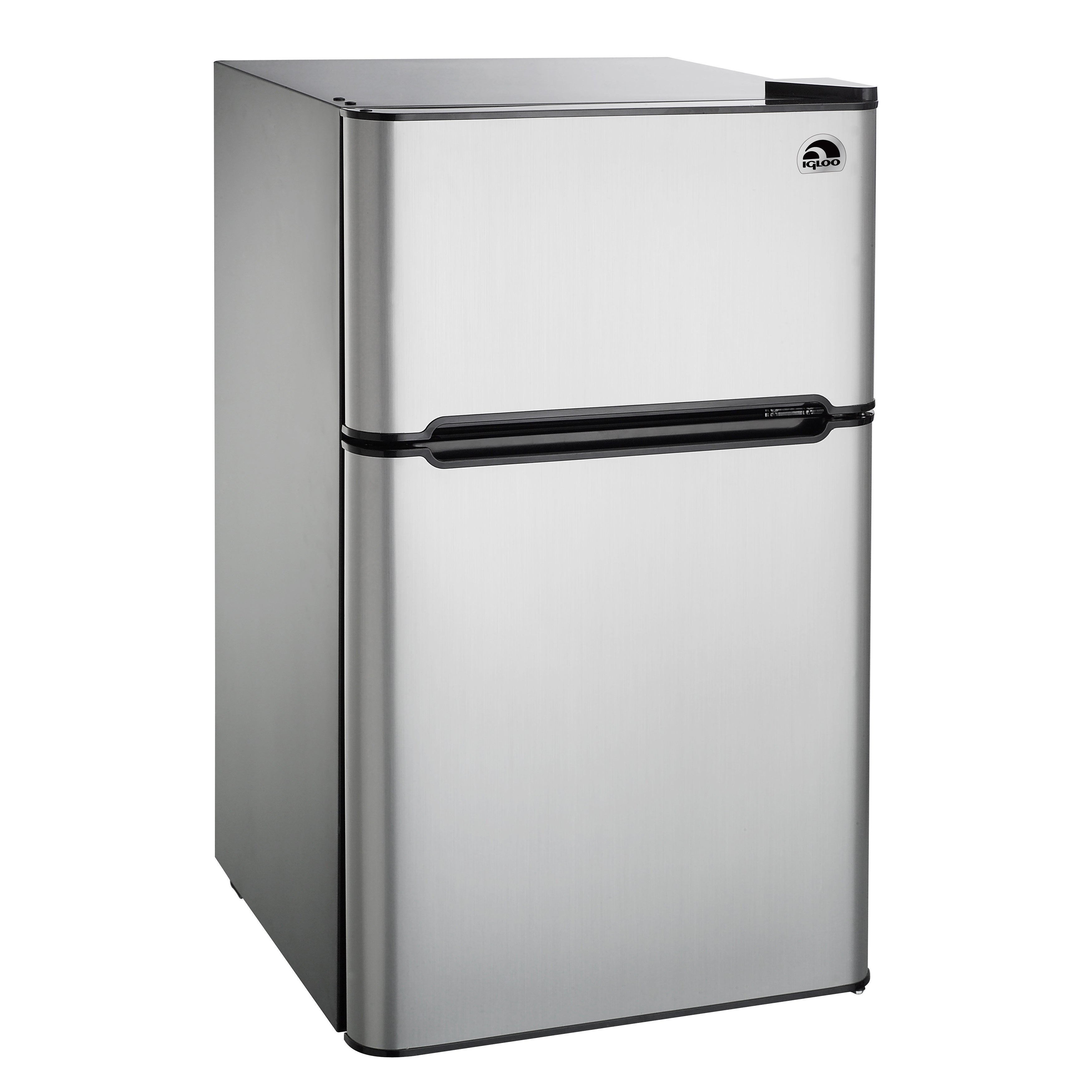 Curtis Igloo Stainless Steel (Silver) 3.2-cubic-foot Refr...