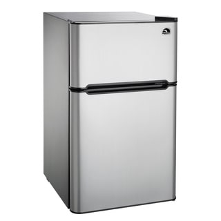 Igloo Stainless Steel 3.2-cubic-foot Refrigerator/Freezer
