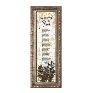 James Lawrence 'Abc's Of Jesus' Framed Wall Art