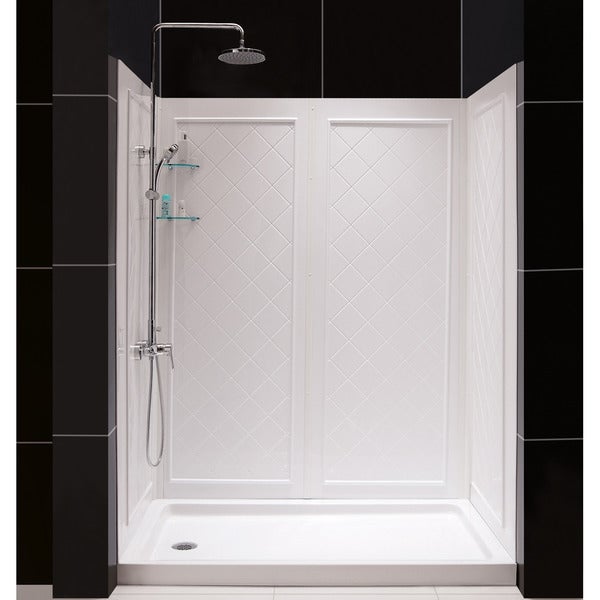 Dreamline Slimline 32 60 Inch Single Threshold Shower