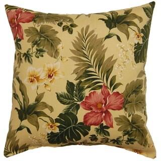 Flavia Basil 17-inch Outdoor Throw Pillows (Set of 2)