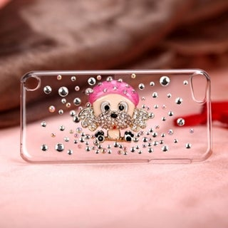 Insten/ Clear Dog Hard Snap-on Glossy Case Cover For Apple iPod Touch 5th/ 6th Gen