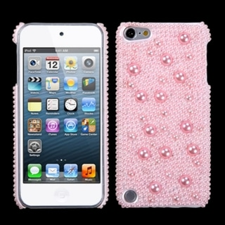 Insten Pink Hard Snap-on Diamond Bling Case Cover For Apple iPod Touch 5th/ 6th Gen