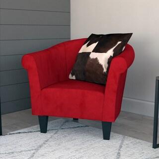 Beau Porch U0026 Den Fountain Square Woodlawn Microfiber Club Chair