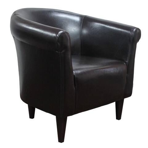 Savannah Leatherette Club Chair
