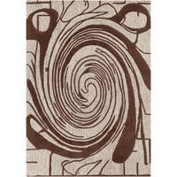 Artist's Loom Hand-tufted Contemporary Abstract Wool Rug (5'x7') - 5' x 7'