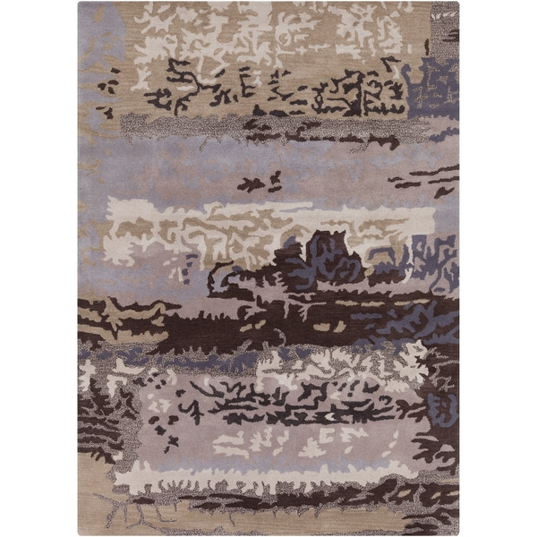 Artist's Loom Hand-tufted Contemporary Abstract Wool Rug (9'x13')
