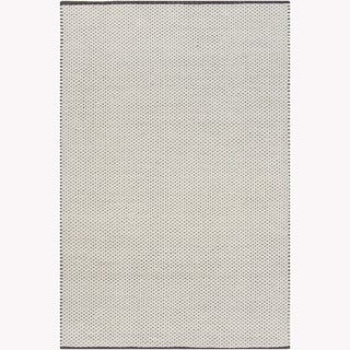Artist's Loom Hand-woven Contemporary Geometric Rug (7'9 x 10'6)