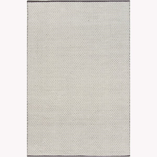 Artist's Loom Hand-woven Contemporary Geometric Rug (7'9 x 10'6)
