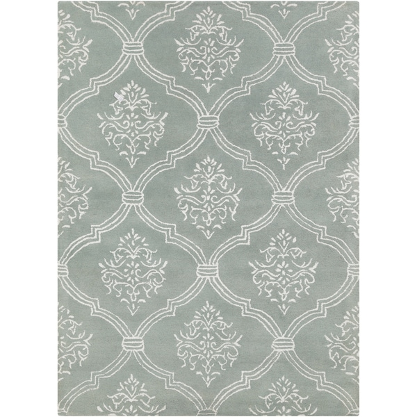 Artist's Loom Hand-tufted Transitional Abstract Wool Rug (5'x7')