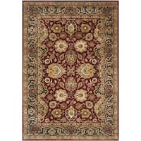"Safavieh Hand-made Persian Legend Rust/ Navy Wool Rug - 8'3"" x 11'"