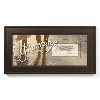 James Lawrence 'Marriage - Lord Help Us' Framed Wall Art