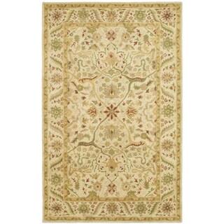 Safavieh Handmade Antiquity Ivory Wool Rug (11' x 15')