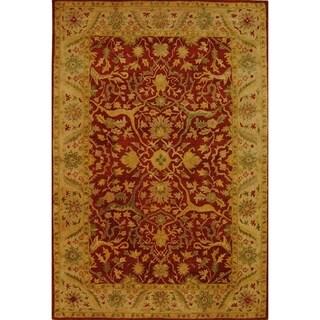 Safavieh Handmade Antiquity Rust Wool Rug (11' x 15')