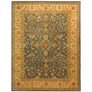 Safavieh Handmade Antiquity Blue Wool Rug (11' x 15')