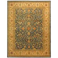 Safavieh Handmade Antiquity Blue Wool Rug - 11' x 15'