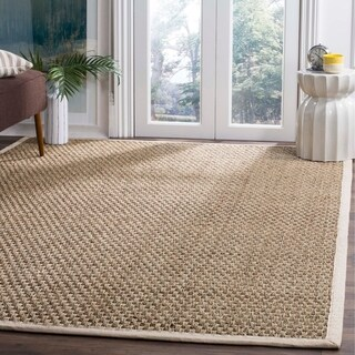 Safavieh Casual Natural Fiber Ivory Sisal Sea Grass Rug - 9' x 12'