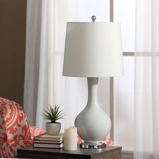 Auva White Table Lamp