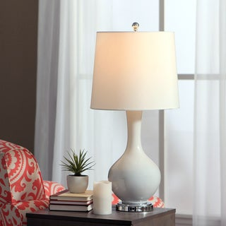Auva White Table Lamp