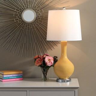 Auva Yellow Table Lamp