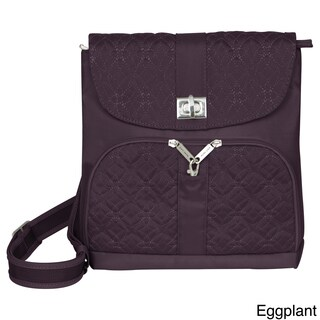 Travelon Anti-theft Signature Crossbody Messenger Bag
