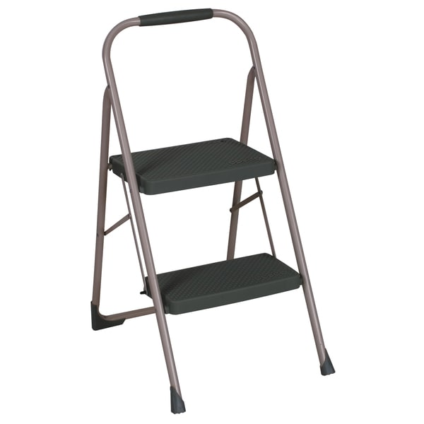 Cosco Two Step Big Step Folding Steel Step Stool Free