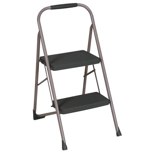 Awesome Shop Cosco Two Step Big Step Folding Steel Step Stool Free Squirreltailoven Fun Painted Chair Ideas Images Squirreltailovenorg