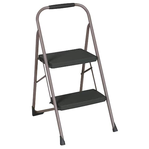 Cosco Two Step Big Step Folding Steel Step Stool