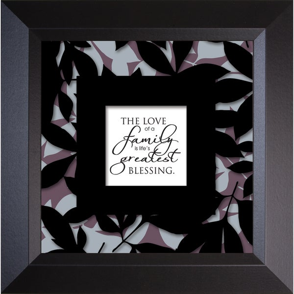 James Lawrence 'Love Of A Family - Truth Squared' Framed Wall Art