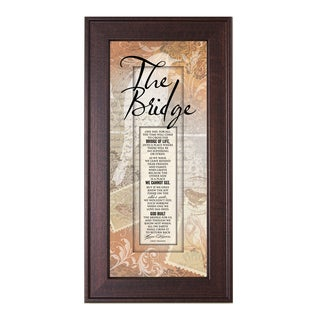 James Lawrence 'The Bridge' Framed Wall Art