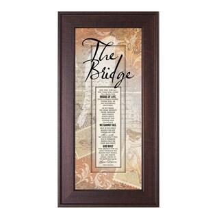 James Lawrence 'The Bridge' Framed Wall Art