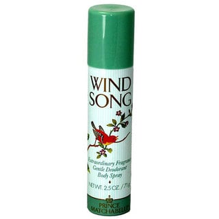 Prince Matchabelli Wind Song Women's 2.5-ounce Deodorant Body Spray