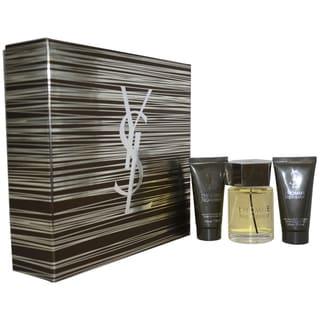Yves Saint Laurent L'Homme Men's 3-piece Fragrance Gift Set
