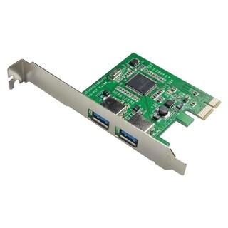 SYBA Multimedia USB 3.0 2-port PCI-e Controller Card, Etron EJ168 Chi