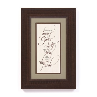 James Lawrence 'Within This House' Framed Wall Art