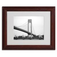 Yale Gurney 'Verrazano' Framed Matted Giclee Art