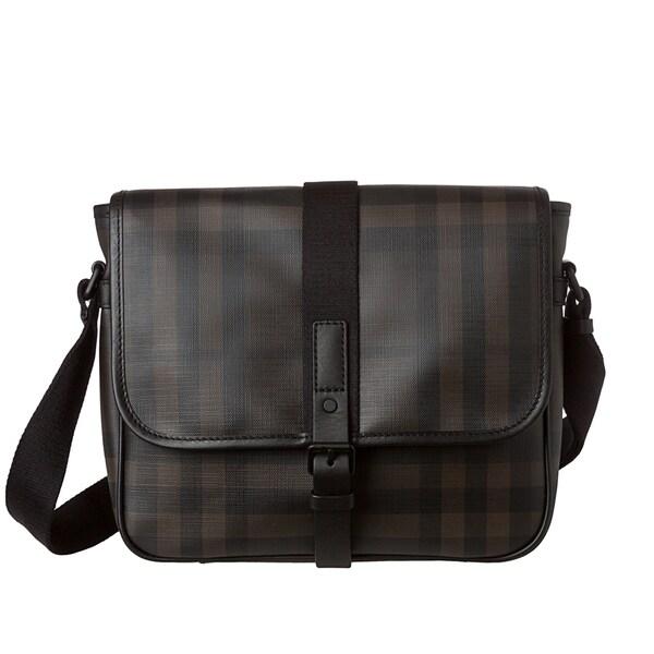 Burberry Smoked Check Messenger Bag